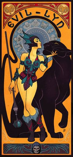 """Rita Crispina-Armitage of the Harem with Richard the Black Leopard and wizard staff """"Durinberia"""" (Durin Protector).♥"""