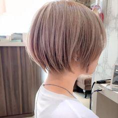Cute Haircuts, Cute Hairstyles For Short Hair, Short Hair Cuts, Bob Hairstyles, Short Hair Styles, Boxie Cut, Medium Bob Cuts, Bob Hair Color, Chin Length Bob