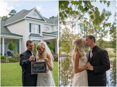 Gorgeous couple alert on the blog! Who knew a wedding in Apex, NC could be SO sweet??