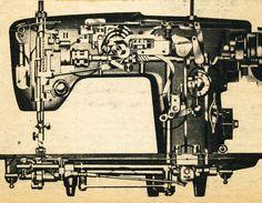 Sewing Machine Interior