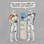 Watercooler Storm Troopers Shirt  (these guys have great 80's T-shirts! - cam)