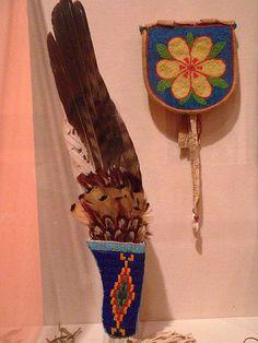 Northern Plains Hawk Wing Fan, via Flickr.