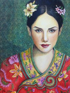 Frans Cronje | Painted Faces | Pinterest Sabrina Ward Harrison Sketchbook