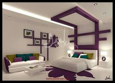 Bedroom Paint Design, Bedroom Wall Designs, Luxury Bedroom Design, Bedroom Furniture Design, Bedroom Layouts, Pvc Ceiling Design, Interior Ceiling Design, Bedroom False Ceiling Design, Luxurious Bedrooms