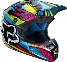 2012 Fox V1 Undertow Motocross Helmets | eBay