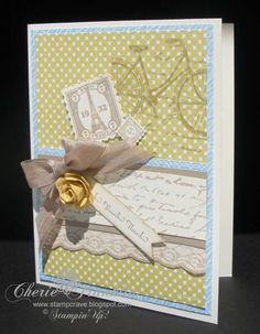 Postage Due Thanks by stampcrave - Cards and Paper Crafts at Splitcoaststampers