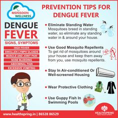 Try to follow some tips to prevent dengue fever. If you know how to prevent dengue fever, you can keep it far away and enjoy #Monsoon.