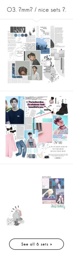 """""""O3. يmmط / nice sets ♡."""" by hexstia ❤ liked on Polyvore featuring Weston, ferm LIVING, NYX, kpop, EXO, kai, jongin, Deborah Rhodes, Sinclair and Duffy"""