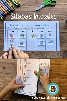 Games and activities to teach Syllables in Spanish Spanish Teaching Resources, Spanish Activities, Spanish Language Learning, Teaching Ideas, Vocabulary Activities, Hands On Activities, Learning Activities, Phonemic Awareness Activities, Phonological Awareness