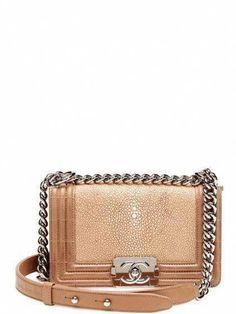 673634de314f Small Classic Beige Stingray Boy Flap Crossbody Bag  Chanelhandbags