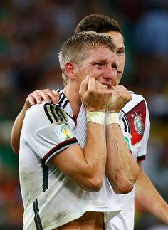 Bitter Tears of Victory..Bastian Schweinsteiger