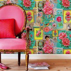 Resultado de imagem para papeis de parede para sala coloridos