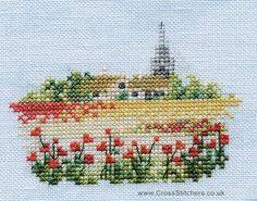 Poppyfield - Minuets - Cross Stitch Kit from Derwentwater Designs