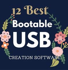 Free Tools to make Bootable USB drive from an ISO File. Create bootable USB drive to install new operating system.