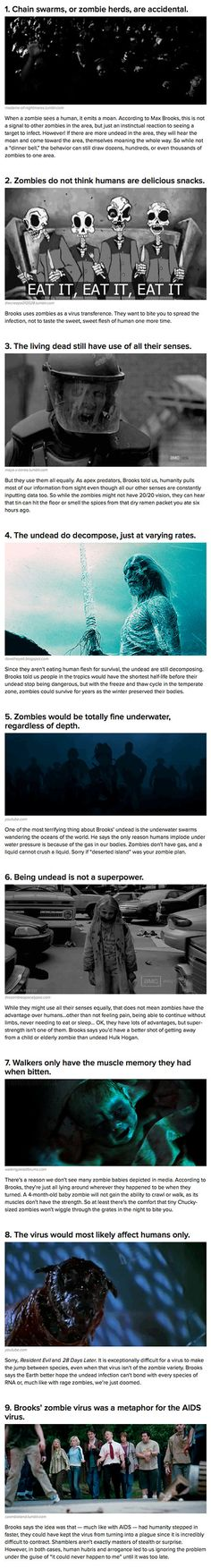 As long as they aren't fast zombies, humanity should be OK. Max Brooks, author of World War Z, sat down at New York Comic-Con to discuss what makes the undead tick.