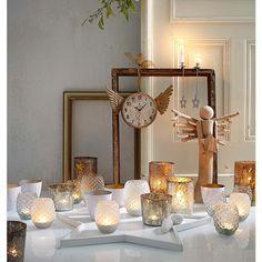 Deko-Engel aus Holz. #Deko #Weihnachten #Engel #Impressionenversand