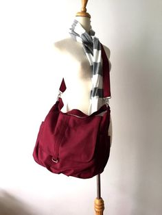 a8592b7fa1 Diaper bag , Eco friendly COTTON messenger bag ,cotton large roomy bags ,  Versatile Messenger
