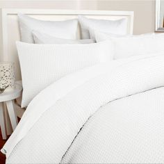 KOO Elite Chunky Waffle Duvet Cover Set   Duvet Covers   Bed Linen   Bed   Spotlight New Zealand
