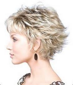 35 Summer Hairstyles for Short Hair – Hair Style Short Layered Haircuts, Cute Hairstyles For Short Hair, Curly Hair Styles, Shag Hairstyles, Hairstyles 2016, Pixie Haircuts, Wedding Hairstyles, Medium Hairstyles, Black Hairstyles