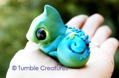 Hey, I found this really awesome Etsy listing at https://www.etsy.com/listing/200644297/chameleon-tumble-creature-merlin