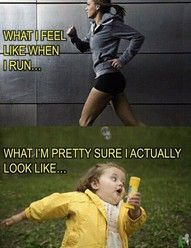 thats why people be staring when i'm on the treadmill... totally makes sense now