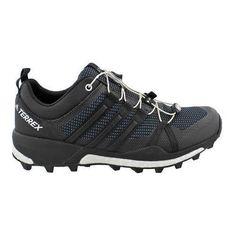 6ed5b4d1f Men s adidas Terrex Skychaser Trail Running Shoe Dark Grey Black White