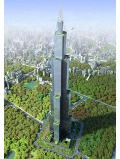 """First, there was Dubai's Burj Khalifa. Now China's Sky City is set to take over the title of """"World's Tallest Building."""" Set for completion this month, after a speedy 10 months of construction, the skyscraper in the south-central Chinese city of Changsha will tower 2,749 feet into the air. It's set to open to the public in June 2014."""
