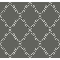 Candice Olson Dimensional Surfaces Moroccan Lattice Sand Wallpaper: Sample Swatch Only Yor