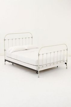 Always Wanted A Bed Like This My White Iron Bed Is From