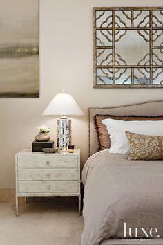 Neutral Transitional Master Bedroom