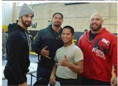 Seth Rollins  Roman Reigns Rayback together at wwe tribute to troops