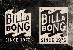 The Studio of Dan Cassaro worked with Billabong on a set of heritage logos to revitalize the brand look while paying tribute to their iconic wave mark and 40 years of history. AD: Michael Mintar