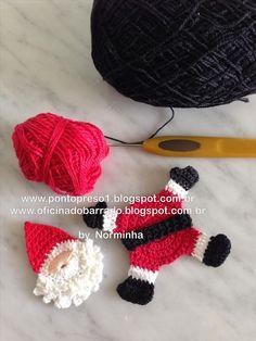 OFICINA DO BARRADO: Croche x NATAL ... Bons motivos para aplicar ...