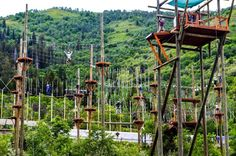 Ropes course at Olympic Park, Park City, UT