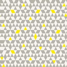 Buy House by John Lewis Triangles Wallpaper Online at johnlewis.com  Possible feature wall in the kitchen with small patches of yellow elsewhere in the room such as around the windows