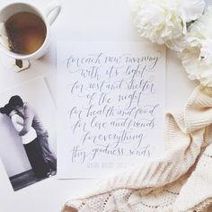 RALPH WALDO EMERSON PRINT, 8X10 GRAY | Brim Papery Grease Is The Word, Ralph Waldo Emerson, Hand Lettering, Print Design, Grey, Prints, Gray, Handwriting, Calligraphy