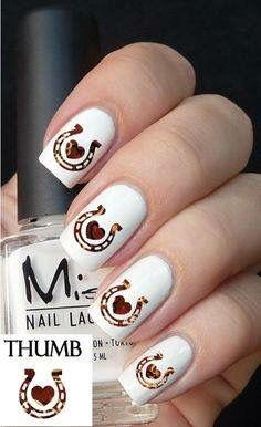 Lacrosse nail art water slide transfers sports crosse game nail horse nails prinsesfo Images