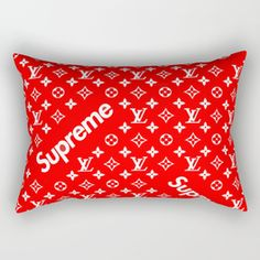 Supreme- LV Rectangular Pillow