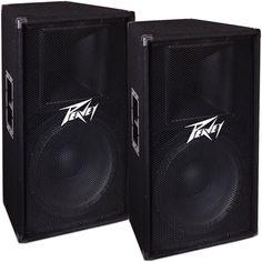 Peavey Speaker Bundle (Pair) This package includes Peavey Speakers. Speaker Stands, Speaker System, Dj Sound, Home Audio Speakers, Dj Gear, Recording Equipment, Marshall Speaker, Musical Instruments, Pairs