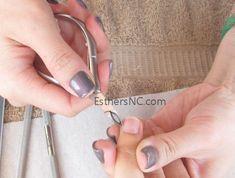 how to apply shellac nail polish - cut hang nails