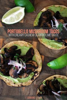 It can't be 4/20 without some yummy tacos. Get the recipe here: http://cookingforluv.com/portobello-mushroom-tacos/