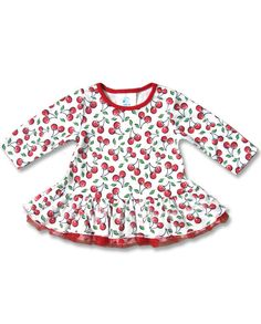 Six Bunnies Baby CUTE CHERRIES Kleid.Tattoo,Biker,Pin up,Custom Clothing Style