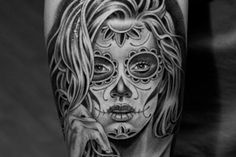 LA based ink artist Jun Cha has an amazing portfolio of striking black, white, and greyscale tattoos. Jun attended Art Center College of Design and has had an interest in tattooing since he was 15.