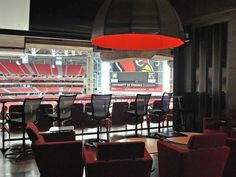View from my owner's suite at the Cardinals stadium