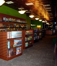 The Enchanted Badger, family friendly game store in Ithaca, New York.