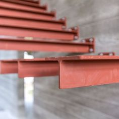 Cantilever stairs just put in on our Lake Knowles project. Cantilever Stairs, Stair Handrail, Staircase Railings, Staircase Design, Stairways, Stairs Architecture, Architecture Details, Residential Architecture, Escalier Design