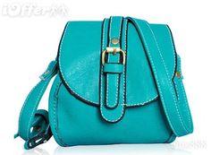 Bright Buckled Shoulder Bag - $47.49 (iOffer)