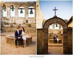 Mission San Juan Capistrano Engagement Photos