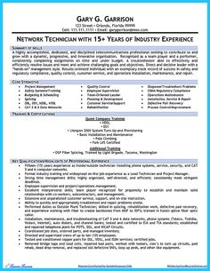 Installation Technician Resume Samples VisualCV Resume Samples Yangi