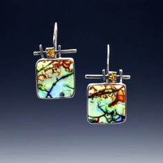 Cultured opal, sterling silver, 24 karat gold Lesley Aine Mckeown